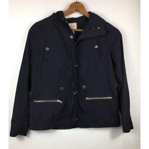 Forever 21 Women's S Black Rain Jacket